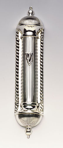 see specials on large silver candlesticks - Silver Mezuzahs