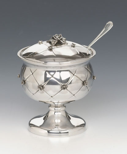 see specials on Silver Torah Ornaments  - Silver Honey Dishes