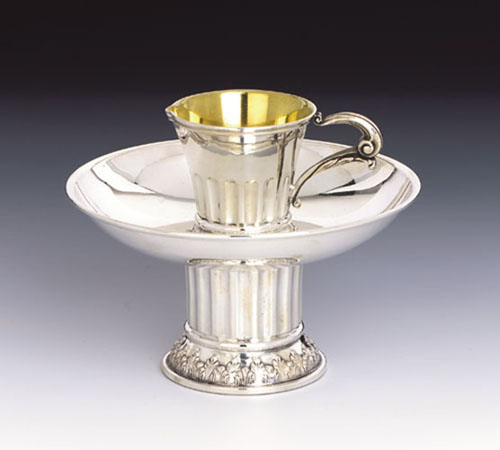 see specials on large silver candlesticks - Silver Washing Cups