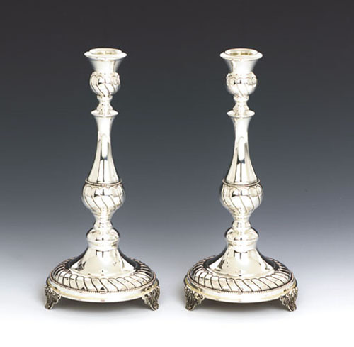 see specials on silver religious articles - Silver Candlesticks