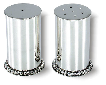 see specials on discount jewish gifts - Silver Salt & Pepper Shakers