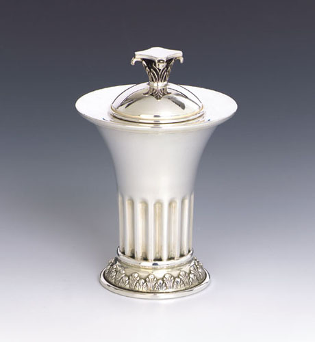see specials on large silver candlesticks - Silver Spice Boxes